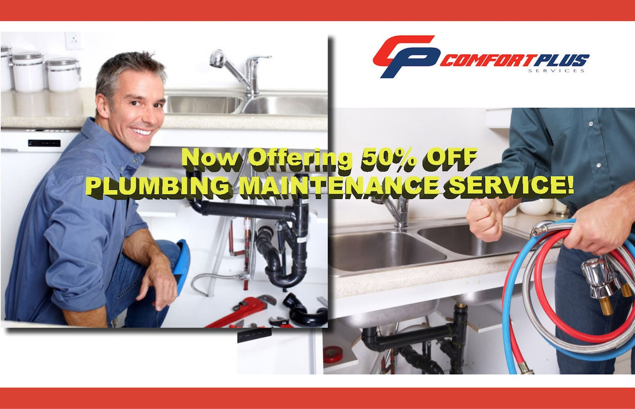 Comfort Plus Services - Plumbing Promotion