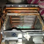 Tankless Water Heater Exchanger - Before